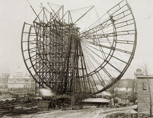 The World's First Ferris Wheel ~ vintage everyday