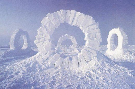 andy-goldsworthy-1989-north-pole-