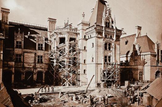 biltmore estate construction