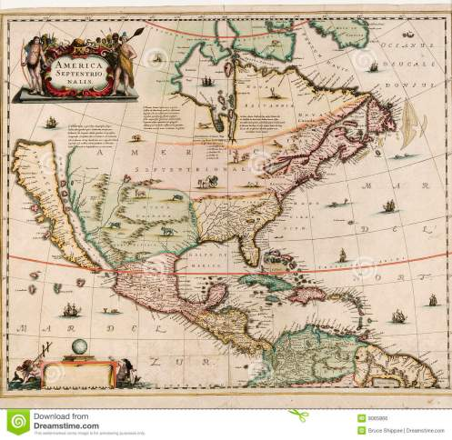 california as island no great lakes old-world-map no date