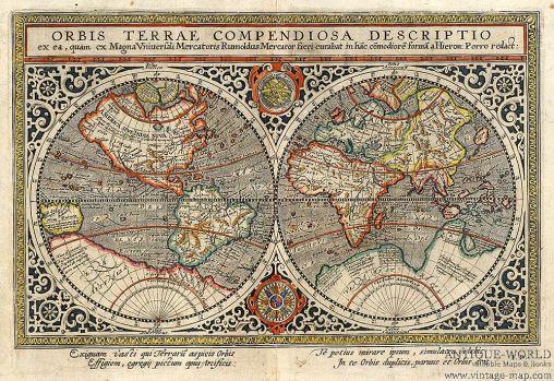 mercator 1597 full earth