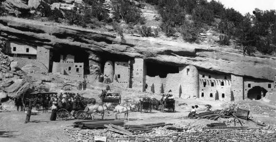 mindeleff cliff dwellings