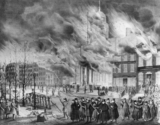 The Great New York City Fire 1835