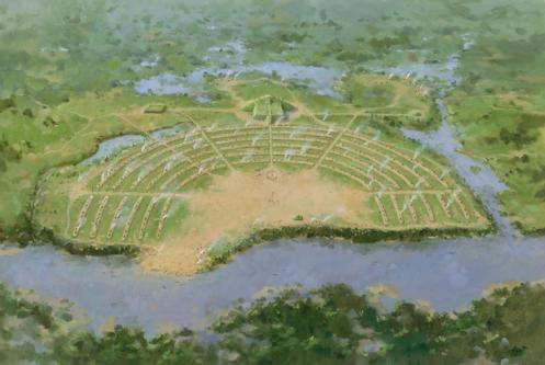 poverty point, ouachita river mound city