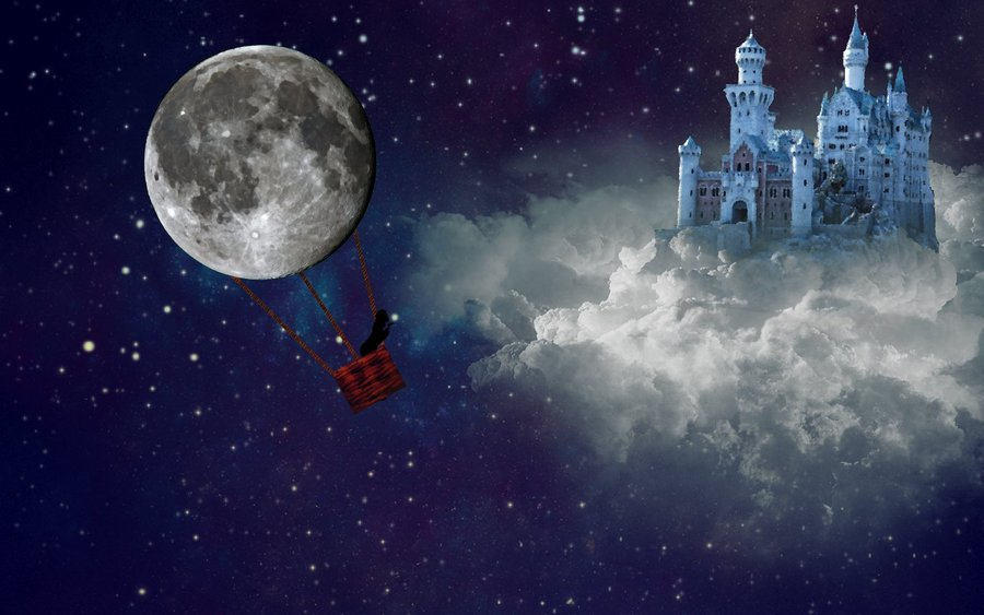 Who Knows if the Moon's a Balloon?